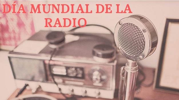 Imagen de una radio antigua con título