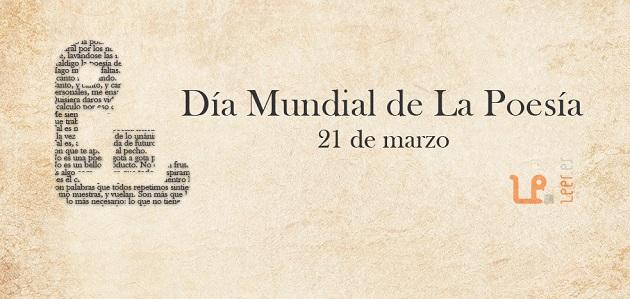 Imagen del cartel del Día Mundial de la Poesía 2 de leer.es