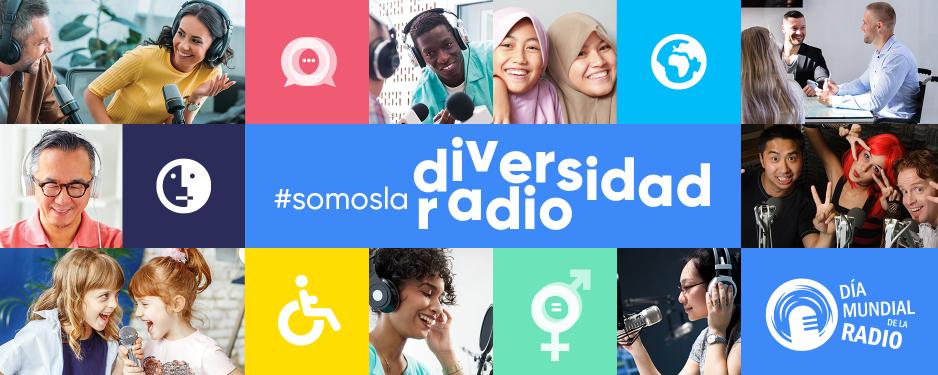 Imagen cartel oficial UNESCO Día Mundial de la Radio 2020