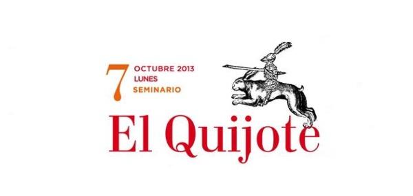 Imagen del seminario 7 de octubre El Quijote
