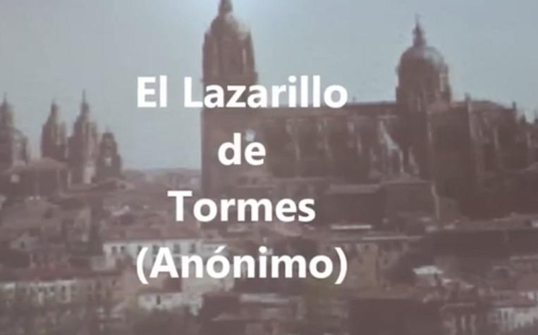 Imagen del video de 'El Lazarillo de Tormes'