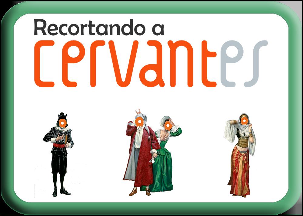 Imagen de Recortando a Cervantes
