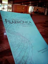 Imagen de la portada de Filarmónica