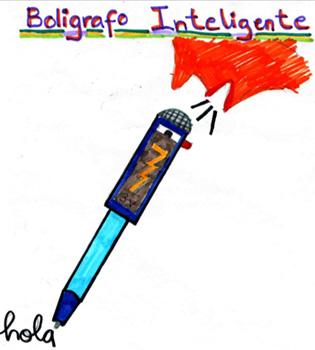 Imagen de el dibujo de un boligrafo